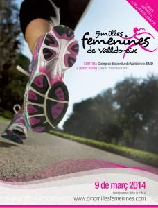 5 Milles femenines Valldoreix 2014