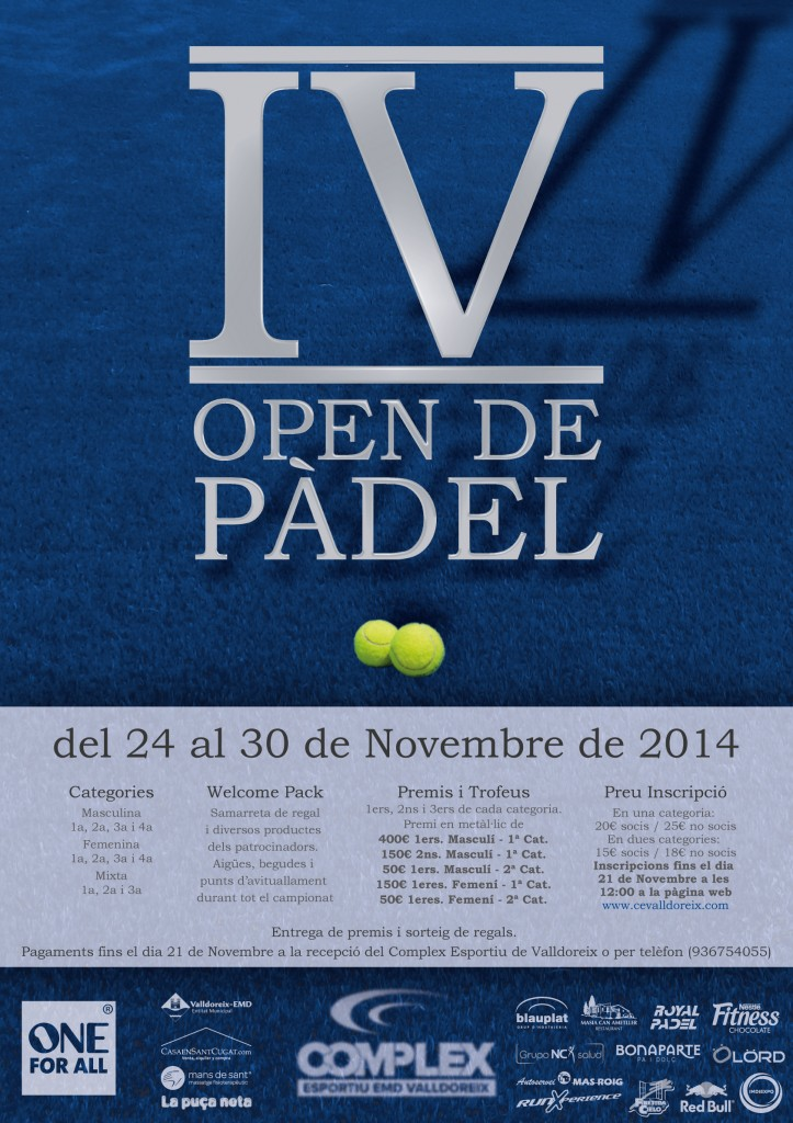 cartell-IV-open-padel
