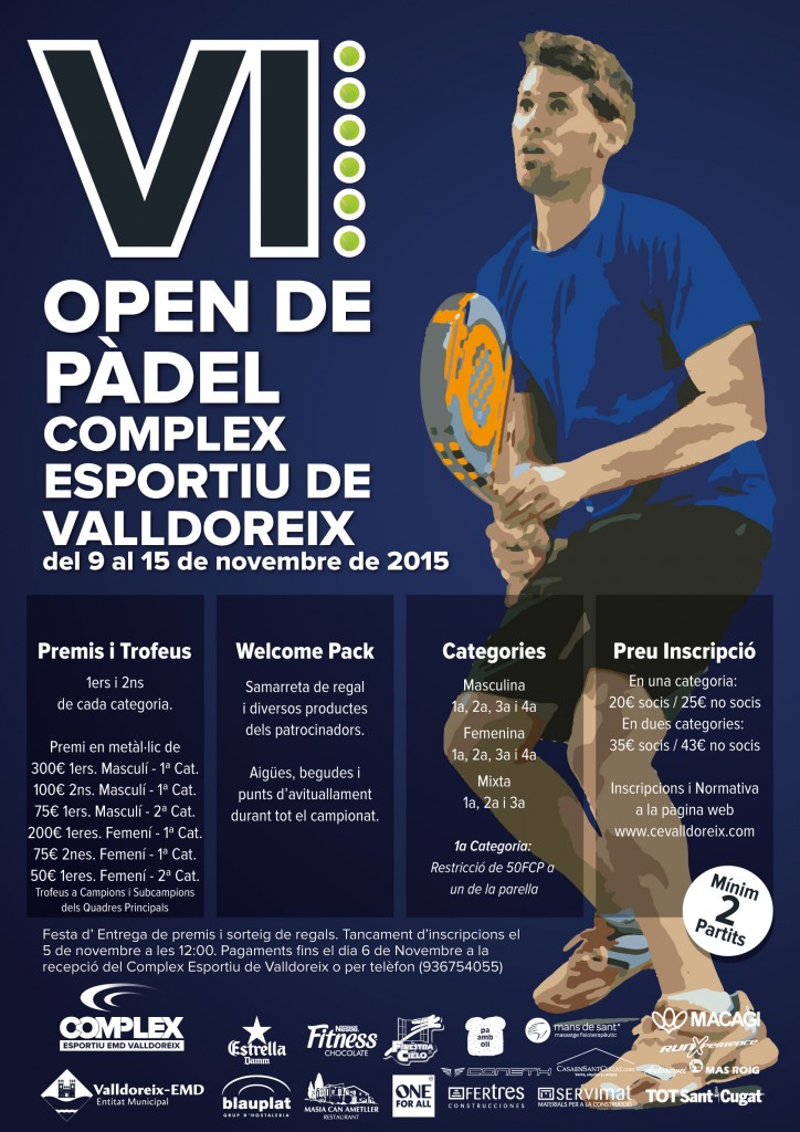 Cartel-VI-Open-Padel